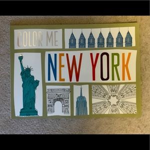 New York Colouring Book